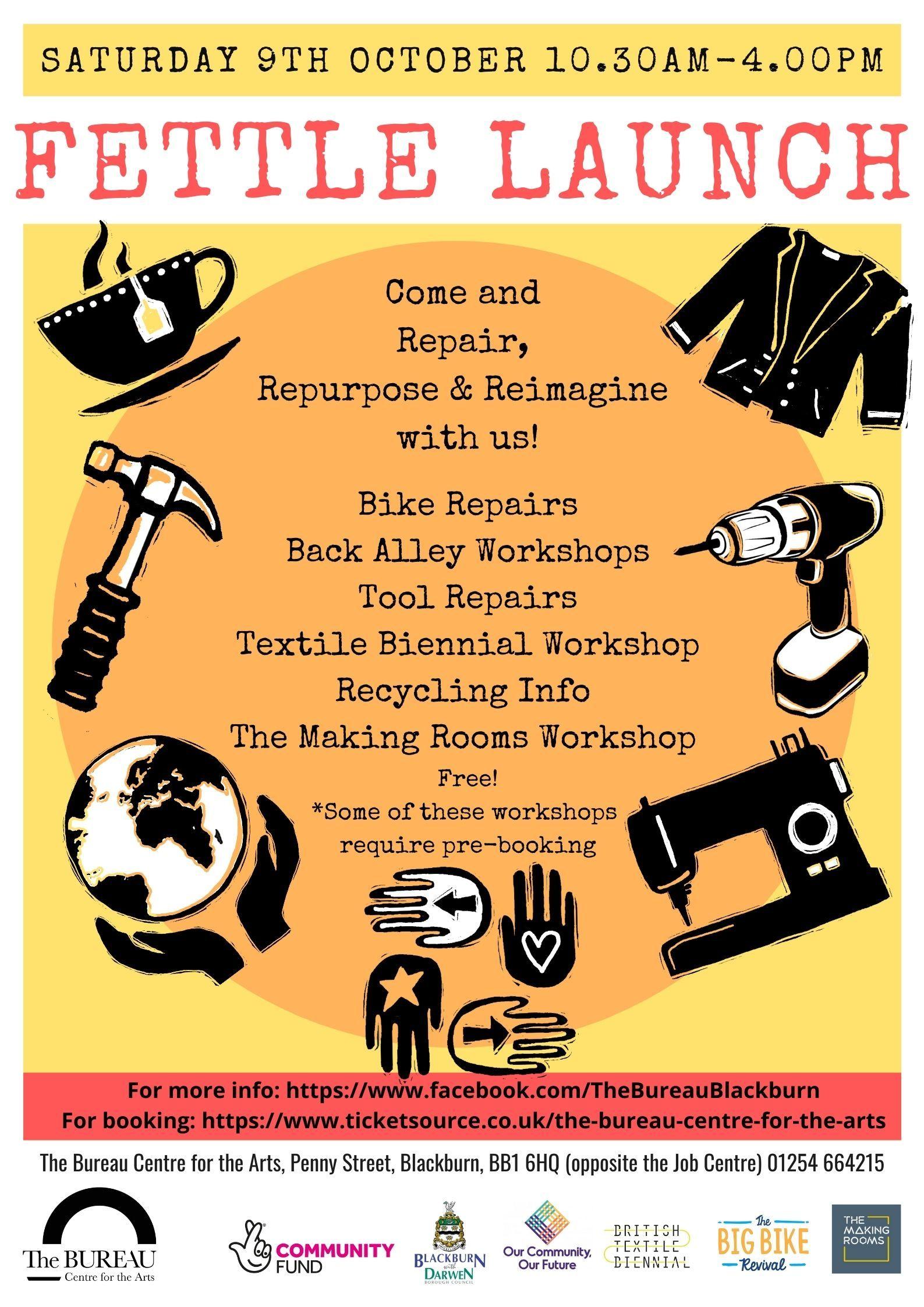 Fettle Launch - Making Workshops