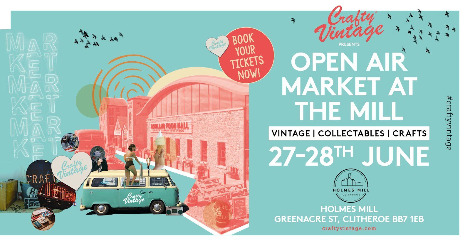 Crafty Vintage Monthly Markets