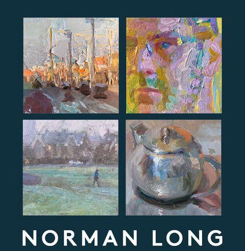 Norman Long Exhibition - Behind the Blue Door