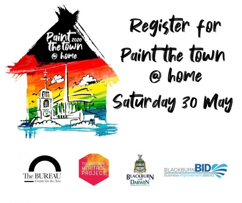 Blackburn Bid - Paint the Town at Home
