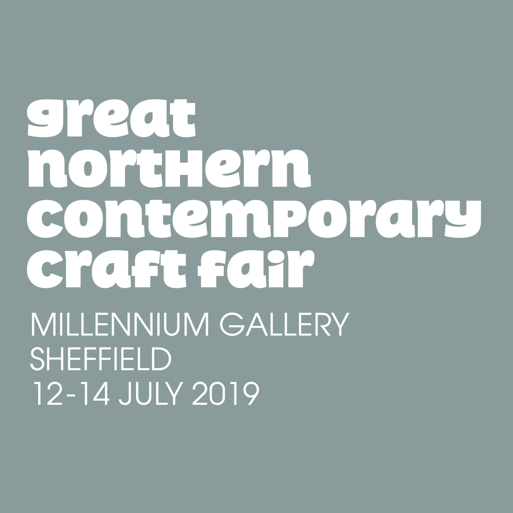 Great Northern Contemporary Craft Fair Sheffield 2019