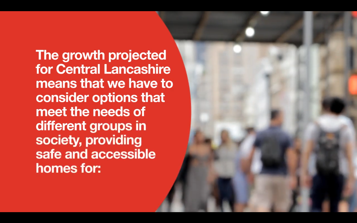 Have your say in the Central Lancs Local Plan