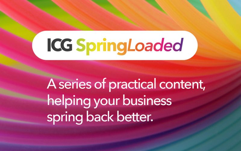 ICG shares their Spring Loaded business survey results