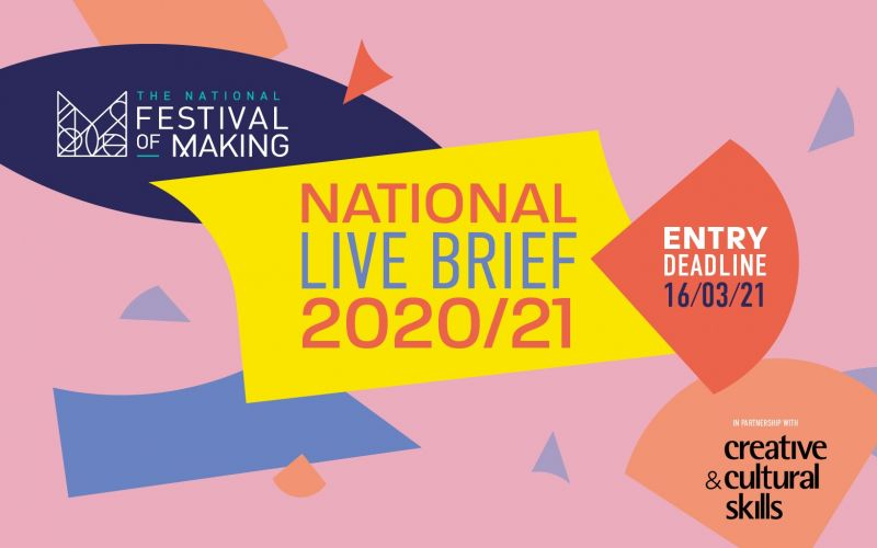 Live Brief launched to support skills development for Creative Students