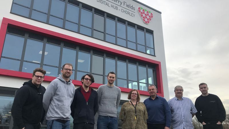 First tenants move into Strawberry Fields, Chorley's New Digital Hub