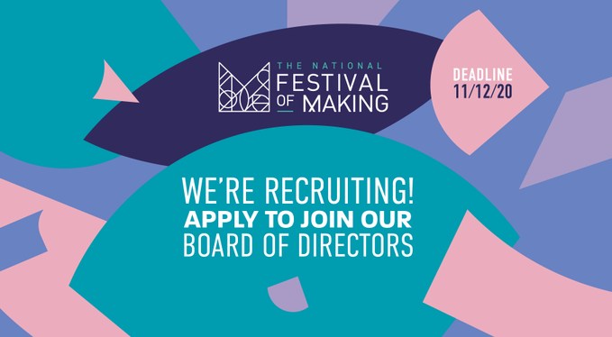 Festival of Making launches open call for Board of Directors