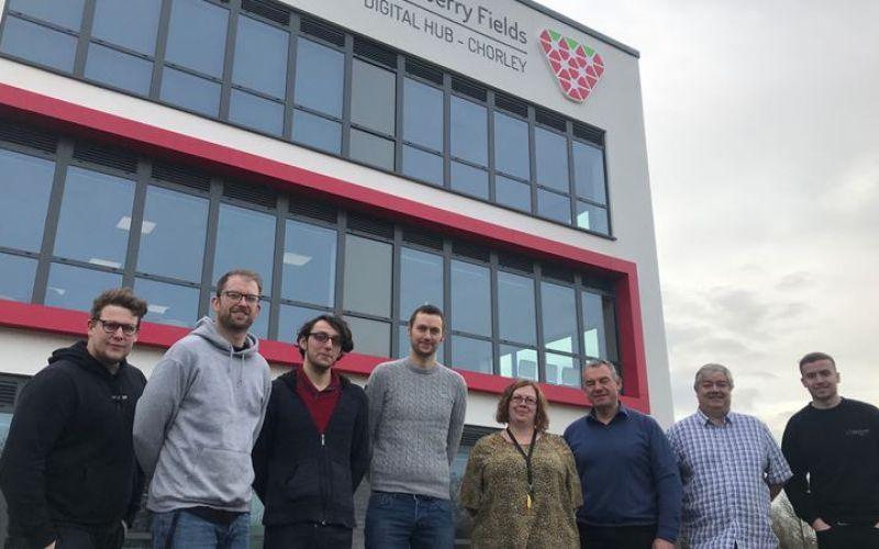 First tenants move into Strawberry Fields, Chorley's New Digital Hub