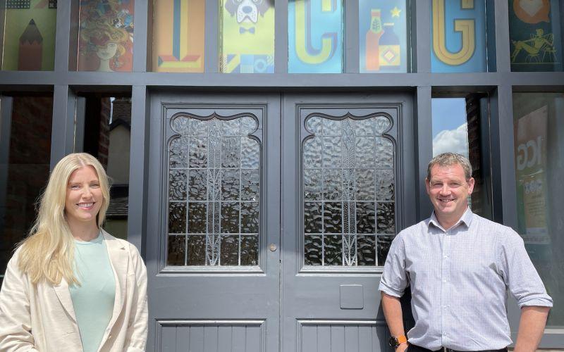 Dynamic duo develops ICG's digital department