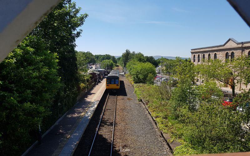 East Lancs Artist Duo work on Brierfield Railway Regeneration Project