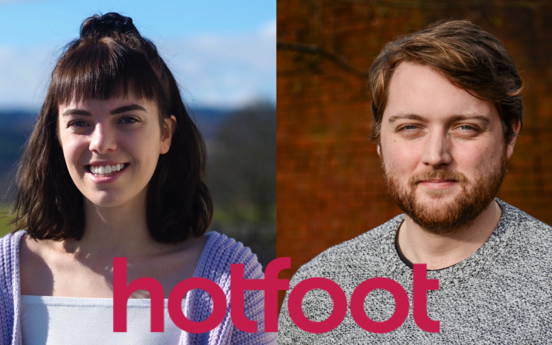 Hotfoot appoints two new specialists join their award-winning team