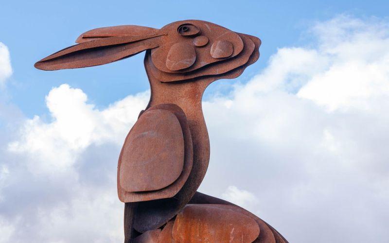 Bowland Hare: a story sculpture Halloween adventure