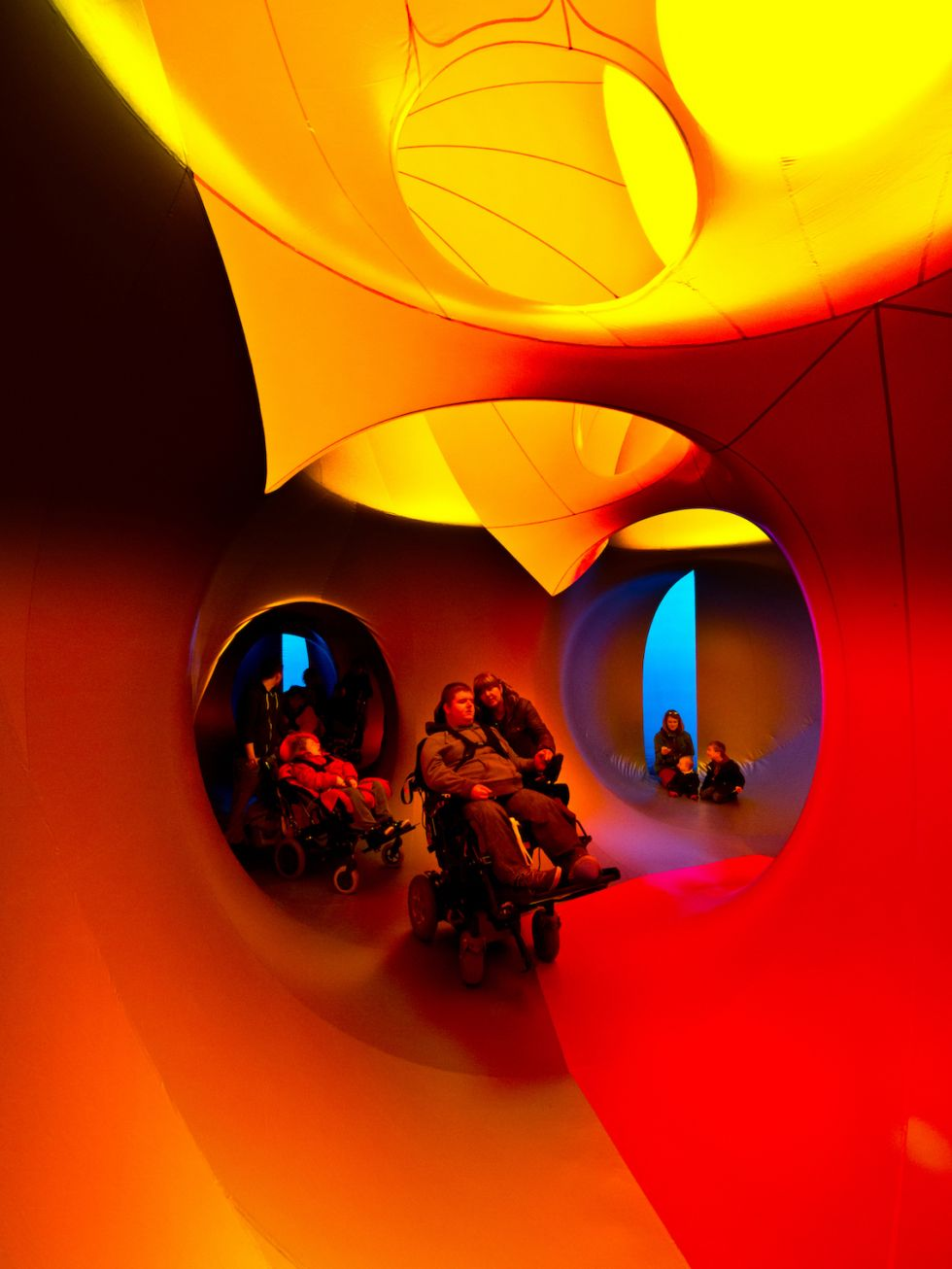 Dodecalis Luminarium is wheelchair accessible.