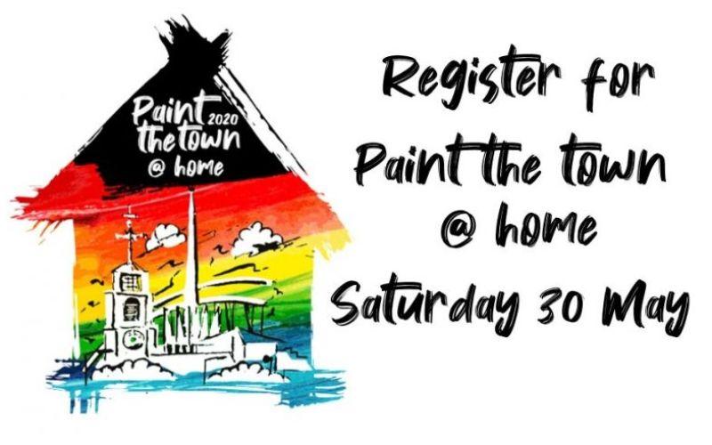 Blackburn's Paint the Town Event Goes Online