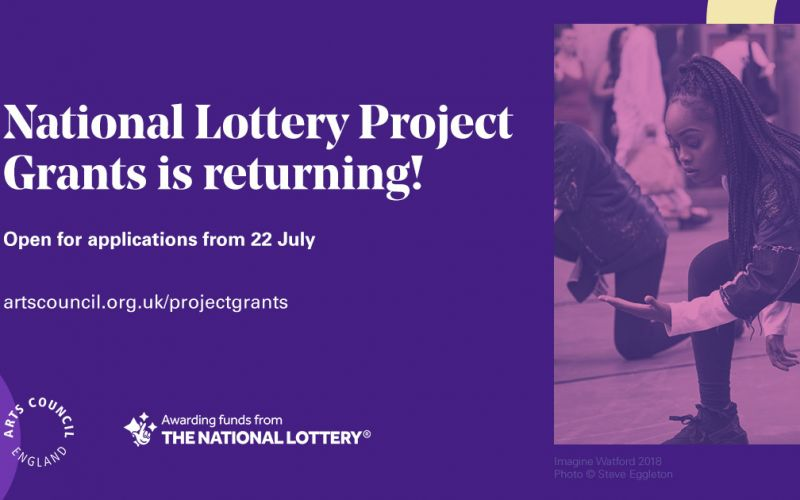 Arts Council National Lottery Project Grants Return