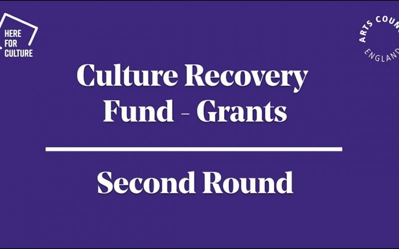 Culture Recovery Fund: Grants second round