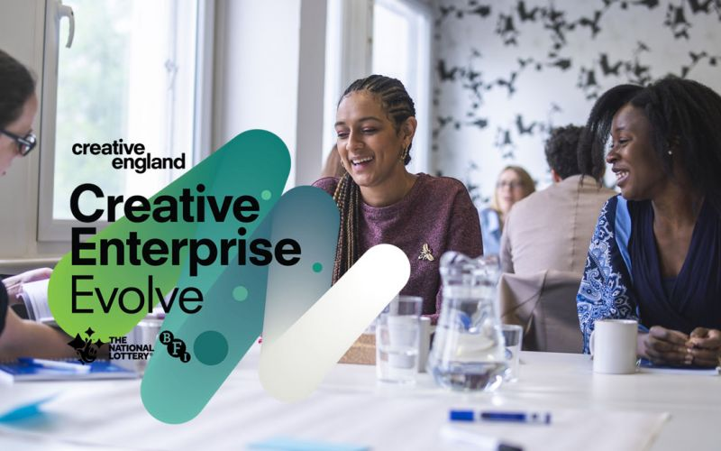 Creative England Launches 2nd Creative Enterprise : Evolve Programme