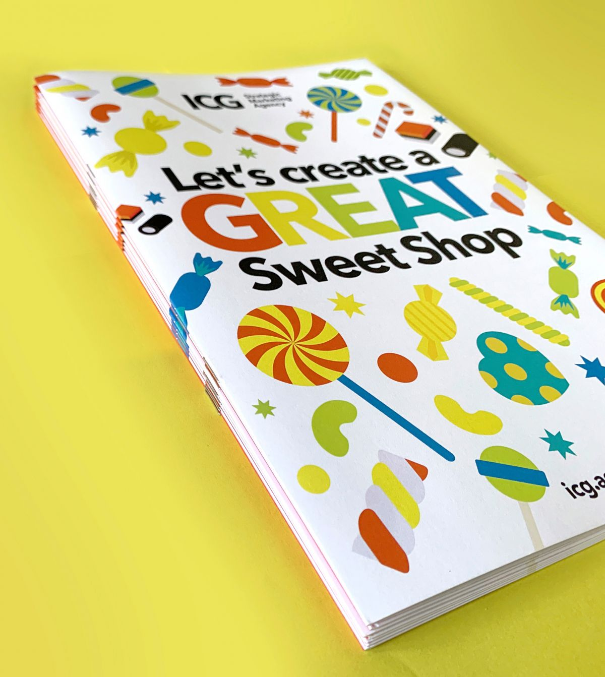 ICG launch Create Great Sweet Shop