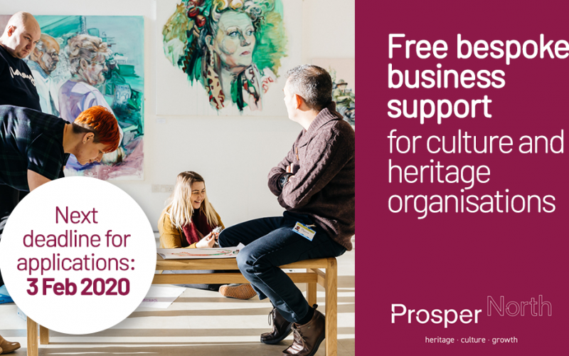 Apply for Prosper North's Business Support Programme