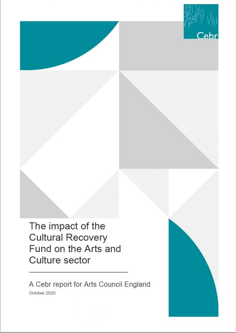 Arts Council: The Impact of the Culture Recovery Fund on the arts and culture sector