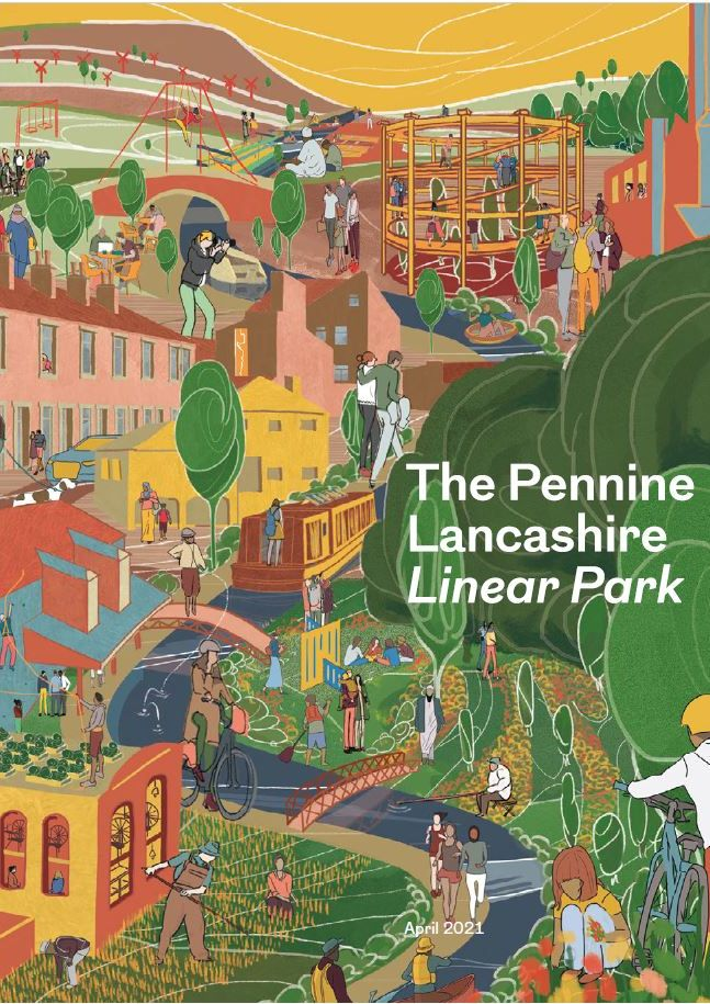 The Pennine Lancashire Linear Park - Unlocking the Potential of the Leeds & Liverpool Canal: The Case for Change (April 2021)