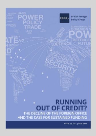 Running Out of Credit? The Decline of the Foreign Office & the Case for Sustained Funding (Brexit)